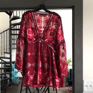 For love and lemons Barcelona mini dress